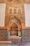 Saadian坟茔在马拉喀什 免版税库存图片