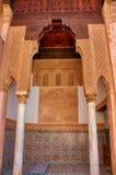 Saadian-Gräber in Marrakesch Lizenzfreie Stockfotografie