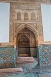 Saadian grobowów mauzoleum w Marrakech budował sułtanu Ahmad al w Maroko Obraz Royalty Free