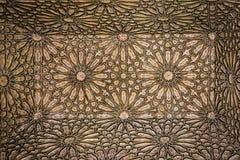 Saadian grobowowie szczegół marrakesh Maroko zdjęcia stock