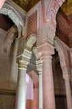 Saadian grobowowie w Marrakech Obraz Stock