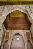 Saadian grobowowie w Marrakech Fotografia Royalty Free