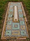 Saadian Mosaikgräber in Marrakesch. Stockbild