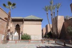 saadian tombs Royaltyfria Bilder