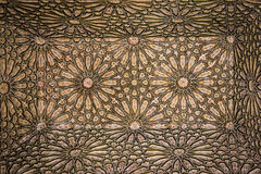 Saadian Tombs. Detail.  Marrakesh . Morocco Stock Photos