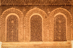 Saadian Tombs. Detail.  Marrakesh . Morocco Stock Images