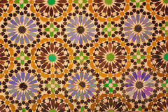 Saadian Tombs. Detail.  Marrakesh . Morocco Royalty Free Stock Photos