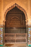 Saadian Tombs. doorway.  Marrakesh . Morocco Royalty Free Stock Images