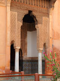 Saadian Tombs, Islamic arch Royalty Free Stock Images