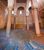 The Saadian tombs in Marrakech Stock Photography