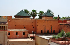 Saadian tombs Royalty Free Stock Photo