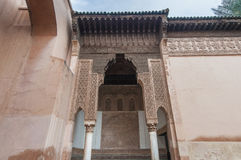 Saadian tombs in Marrakech, Morocco Royalty Free Stock Images