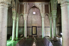 Saadian tombs in Marrakesh - Central Morocco Royalty Free Stock Photos