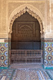 Saadian tombs in Marrakesh - Central Morocco Royalty Free Stock Photography