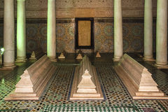 Saadian Tombs. Marrakesh . Morocco Stock Images