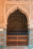 Saadian Tombs, Marrakesh, Morocco Royalty Free Stock Photo