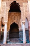 The Saadian tombs mausoleum in Marrakech Morocco, Africa royalty free stock image