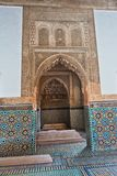 The Saadian tombs mausoleum in Marrakech built by sultan Ahmad al-Mansur in Morocco. Africa Royalty Free Stock Image