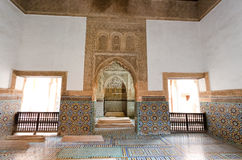 Saadian tombs Stock Image