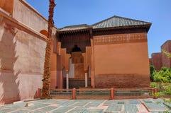 Saadiangraven in Marrakech Royalty-vrije Stock Afbeelding