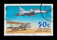 SAAF południe - afrykańska siły powietrzne Fotografia Royalty Free