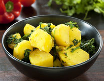 Saag Aloo Royalty Free Stock Images