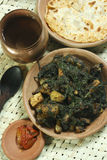 Saag Paneer it is a north Indian vegetable Stock Photo