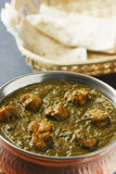 Saag prawn it is a north Indian vegetable Royalty Free Stock Photography