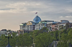 Saakashvili`s presidential palace, Tbilisi Royalty Free Stock Images