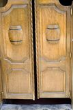 Saal-Türen Stockfotos