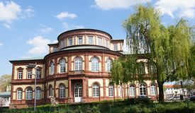 Saalbau i Neustadt Royaltyfria Bilder