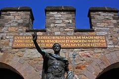 Saalburg römisches Fort Stockfotografie