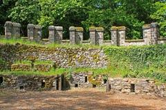 Saalburg römisches Fort Stockfotos