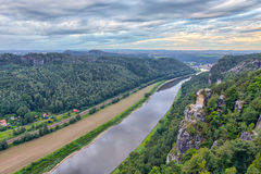 Saale River Stock Image