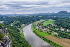 Saale River Royalty Free Stock Photo