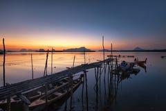 Saam-Chong-Tai Fisherman Village Stock Images