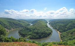 Saar Bow,Saar River,Germany Stock Photos