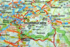 Saarbrucken, Germany Europe. Oldenburg, Germany Europe Selective focus Royalty Free Stock Images