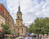 Saarbruecken in the Saarland Royalty Free Stock Image