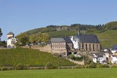 Saarburg - świętego Lawrance kościół Fotografia Royalty Free