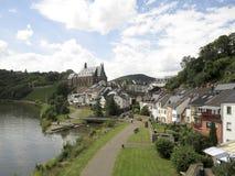 Saarburg Royaltyfri Fotografi