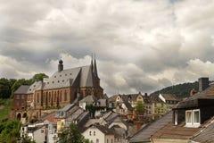 Saarburg Royaltyfria Foton