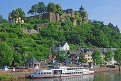 Saarburg, Alemanha Imagem de Stock Royalty Free