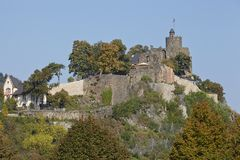 Saarburg - castello Saarburg Immagini Stock Libere da Diritti