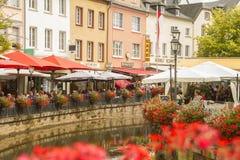 Saarburg, Duitsland Stock Foto's