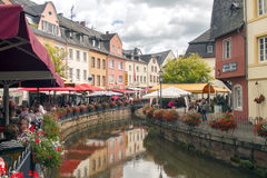 Saarburg, Duitsland Stock Fotografie