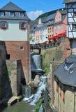 Saarburg, Rijnland-Palatinaat, Duitsland Royalty-vrije Stock Foto's