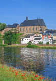 Saarburg,River Saar,Germany Stock Images