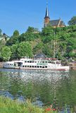 Saarburg Tyskland Royaltyfria Bilder