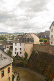 Saarburg village Royalty Free Stock Photo